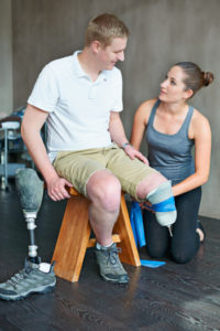 help amputees cope with limb loss from the very beginning